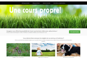 Site Internet Googees, signé Yodia