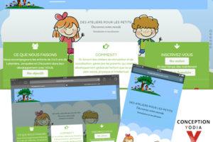Site Web Les Jardins du coin, par Yodia